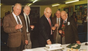 The Society celebrated it's 25th anniversary at the New Year social in 1998
